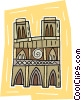 church Vector Clipart picture