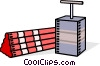 Vector Clipart picture  of a dynamite