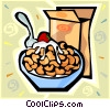 cereal Vector Clip Art graphic