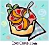 Fruit dessert Vector Clip Art picture