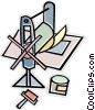Vector Clipart graphic  of a printer