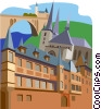 Vector Clipart picture  of a Luxembourg