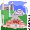 Vector Clipart illustration  of a Istanbul