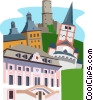 Bonn, Germany Vector Clipart graphic