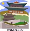 South Korea Vector Clip Art graphic