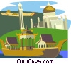 Vector Clipart image  of a Brunei