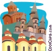 India, Bengal, Calcutta Vector Clipart picture