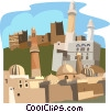 Vector Clipart picture  of a Yemen