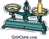 scale Vector Clip Art picture