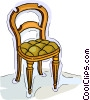 Vector Clipart illustration  of a chair