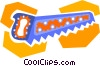 wood saw Vector Clip Art image