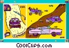 automobile Vector Clipart graphic