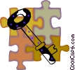 key Vector Clip Art picture