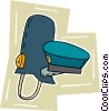 Vector Clipart image  of a police hats