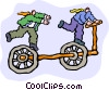 bicycle Vector Clip Art graphic