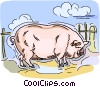 pig Vector Clipart image