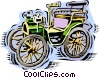 Antique car Vector Clipart illustration
