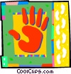 Vector Clipart graphic  of a hand