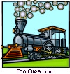 Vector Clipart picture  of a Steam locomotive