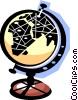globe Vector Clip Art graphic