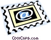 Vector Clipart graphic  of a stamp