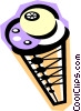 ice cream cone Vector Clip Art picture