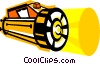 Vector Clipart graphic  of a flashlight