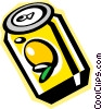Vector Clipart illustration  of a soda can