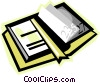 book Vector Clipart image