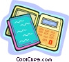 calculator Vector Clip Art graphic