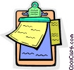 clipboard Vector Clipart illustration
