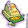 cash register Vector Clip Art image