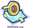 adhesive tape Vector Clip Art picture