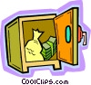 safe, vault Vector Clipart picture