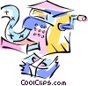 Vector Clipart graphic  of a cash register