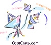 satellite dishes Vector Clip Art picture