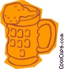 Vector Clipart illustration  of a beer