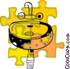 Vector Clip Art graphic  of a sink