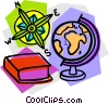 school project, geography Vector Clipart picture