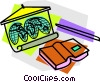 School project, geography Vector Clip Art picture