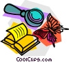 school project, science Vector Clip Art graphic