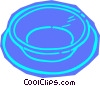Vector Clipart image  of a bowl