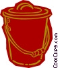 pail Vector Clipart illustration