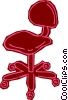 office chair Vector Clipart image