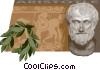 Aristotle Vector Clip Art picture