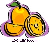 Vector Clipart graphic  of a orange