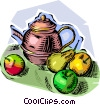 Vector Clipart illustration  of a fruit