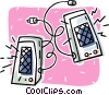 computer speakers Vector Clipart illustration