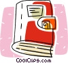 Vector Clip Art picture  of a wallet or purse