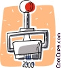 Vector Clip Art picture  of a stamper or imprinter